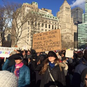 trump-protest new york