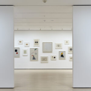 Installation view of A Revolutionary Impulse: The Rise of the Russian Avant-Garde