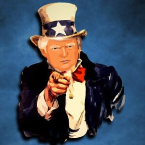 Trump Uncle Sam