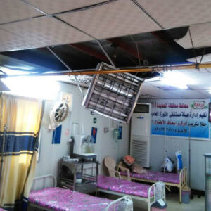 WHO estimates that at least 51 hospitals have been damaged or partially destroyed over the past six months due to the ongoing conflict in Yemen. (WHO Yemen)