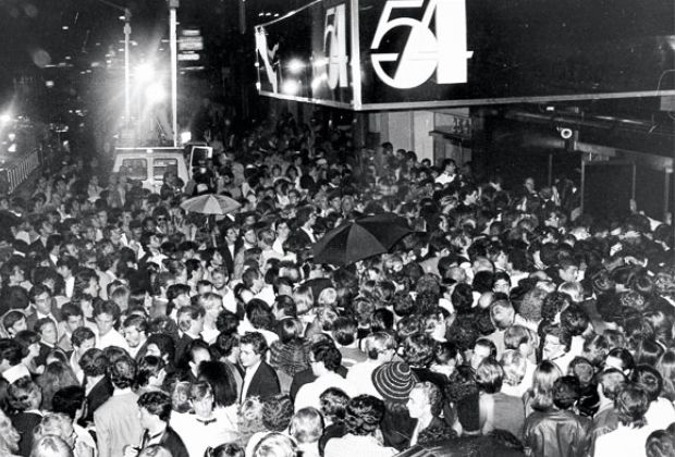 The line in front of Studio 54