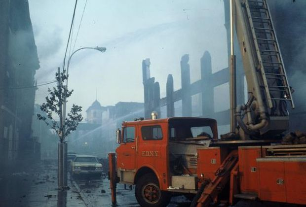 South Bronx after fire