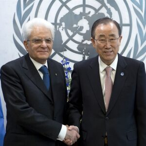 sergio mattarella all'onu
