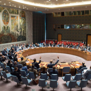 Security Council meeting on The situation in Libya.