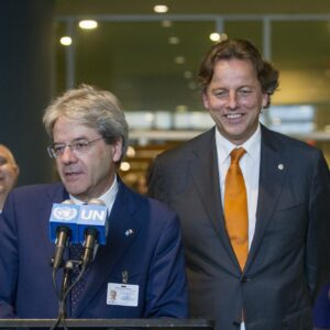 Paolo Gentiloni United Nations