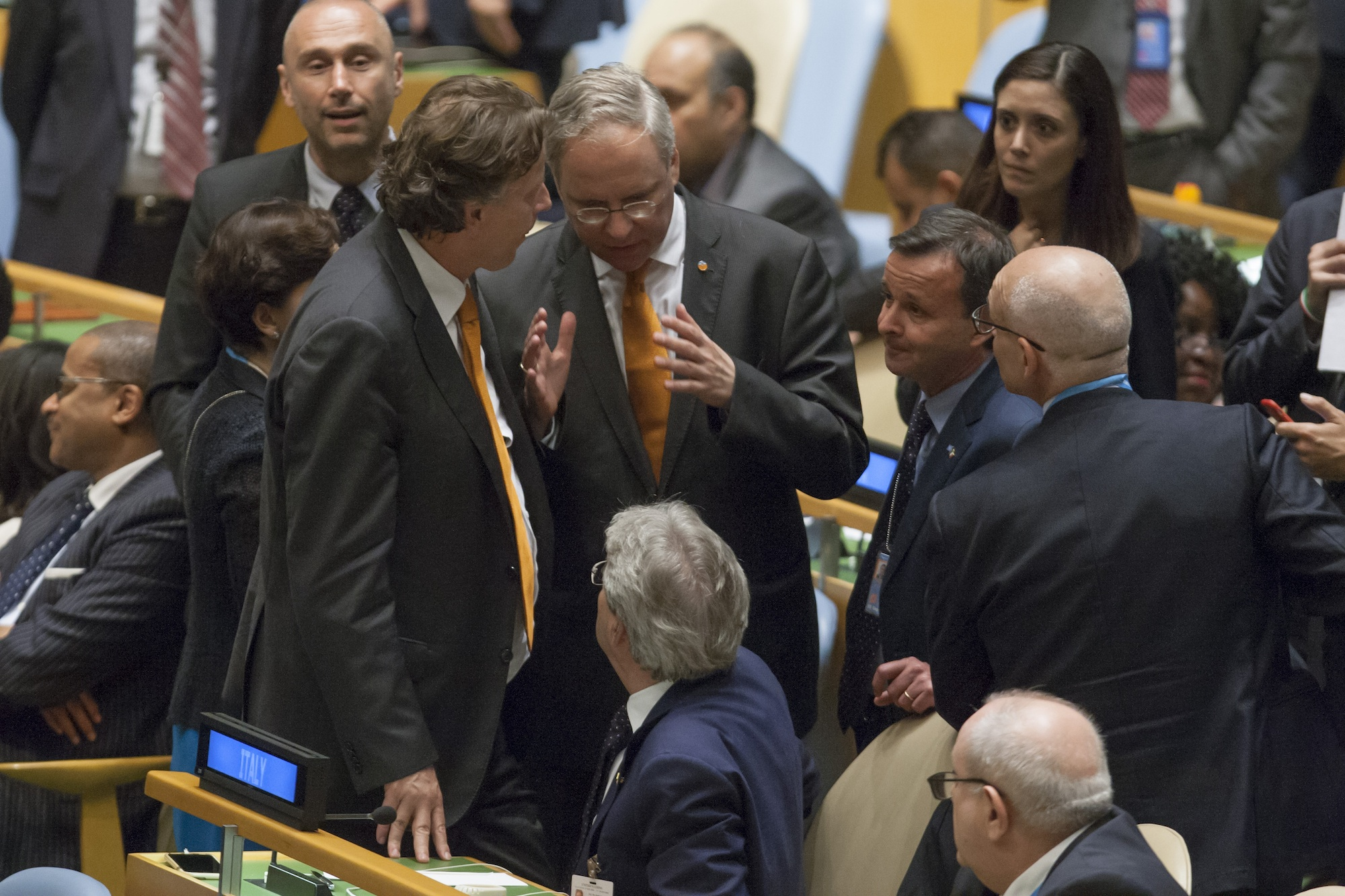 UNGA Italy Netherlands UNSC Elections