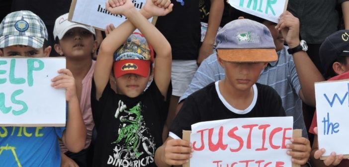 australia bambini proteste migranti