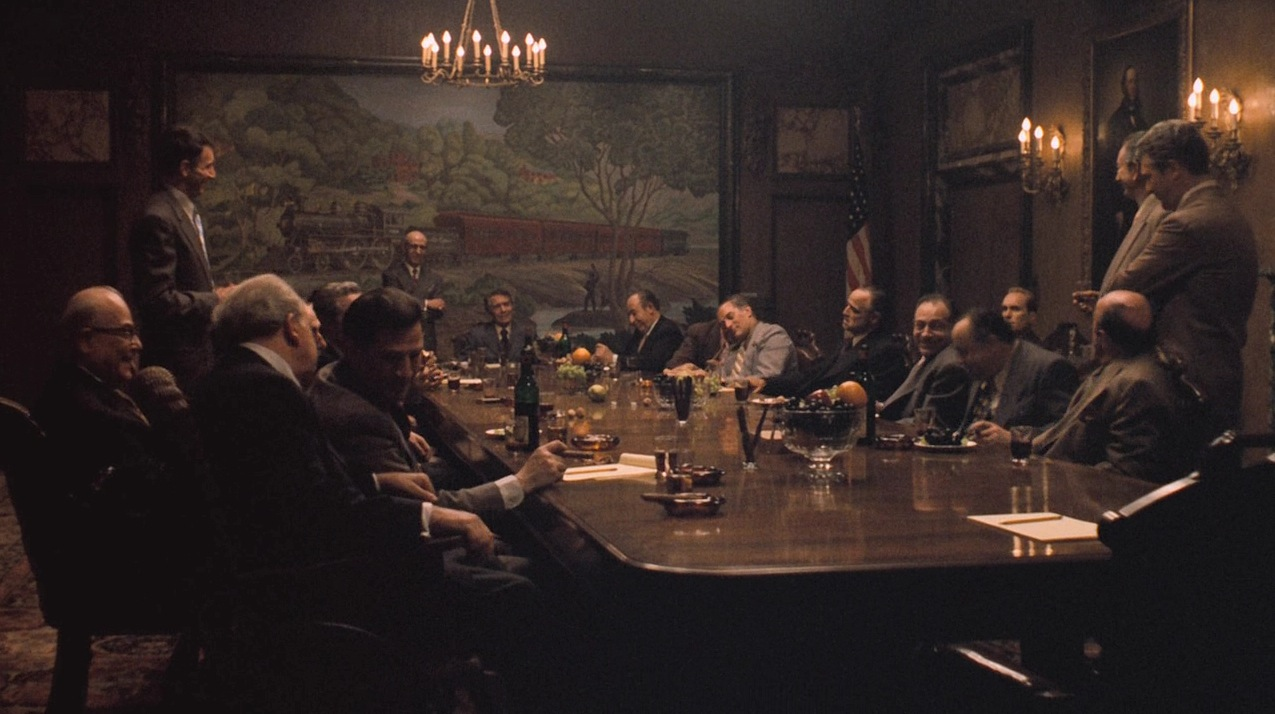 an analysis of the godfather in mafia family The godfather analysis  act 3: the next major development in the movie's story is the mafia family wars that take place once sollozzo and mcclusky are killed.