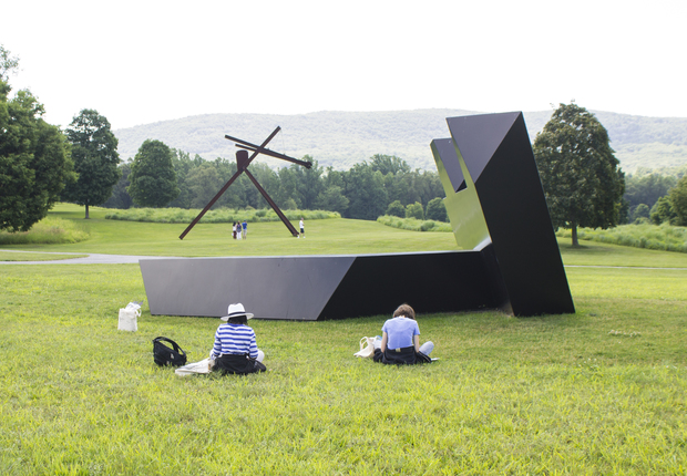 Summer class at Storm King Art Center.