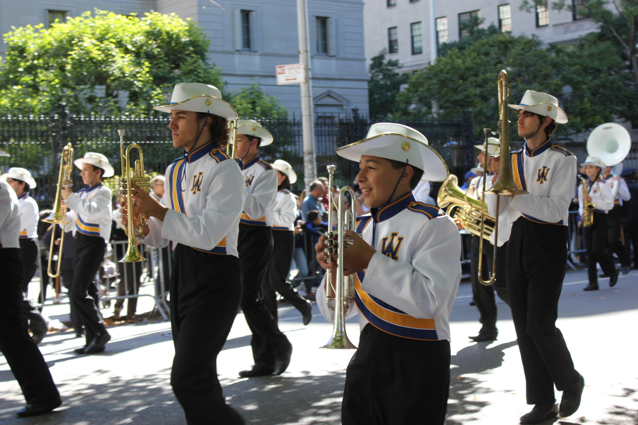 20. West Islip High School Marching Lions. From West Islip, NY.
