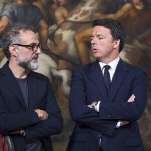 Massimo Bottura Matteo Renzi