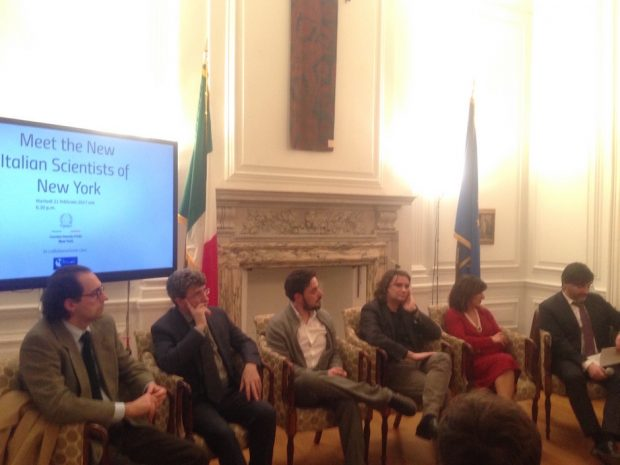 Appuntamento Meet the New Italian Scientists of New York