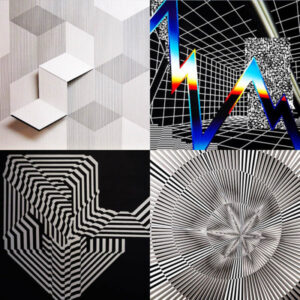 Contemporary Op and Kinetic Art