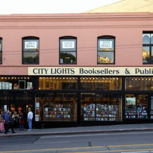 Lawrence Ferlinghetti City Lights San Francisco