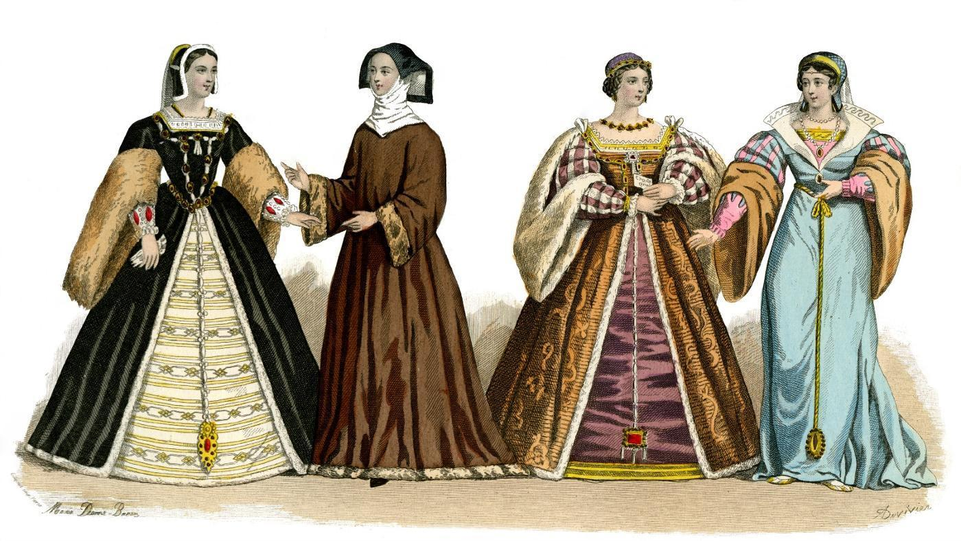 Traditional England Clothes For Women
