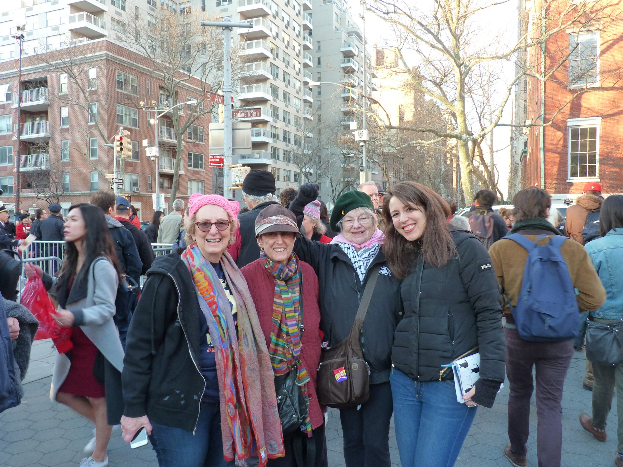 women march nyc veternae