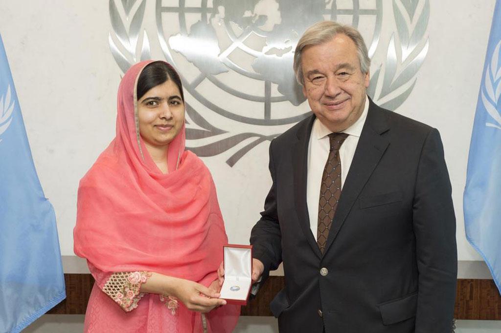 Malala Yousafzai Messaggera di Pace delle Nazioni Unite