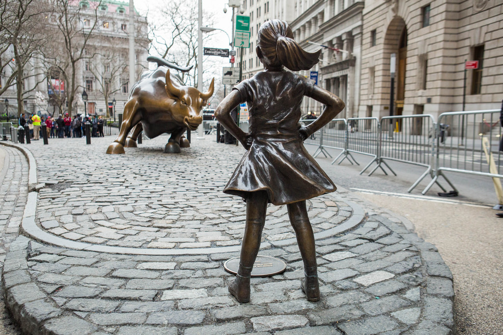 Fearless Girl Toro di Wall Street