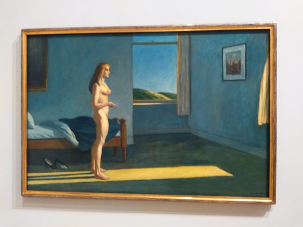 Edward Hopper, A Woman in the Sun, una delle opere esposte al Whitney per la mostra Where We Are,