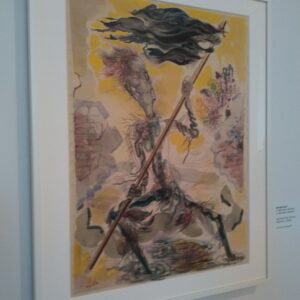 Grosz, Waving the Flag, una delle opere esposte al Whitney per la mostra Where We Are
