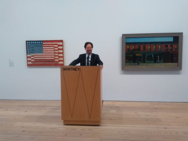 Il direttore del Whitney Adam Weinberg inaugura la mostra Where We Are