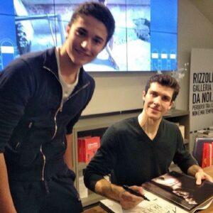 con Roberto Bolle aprile 2015