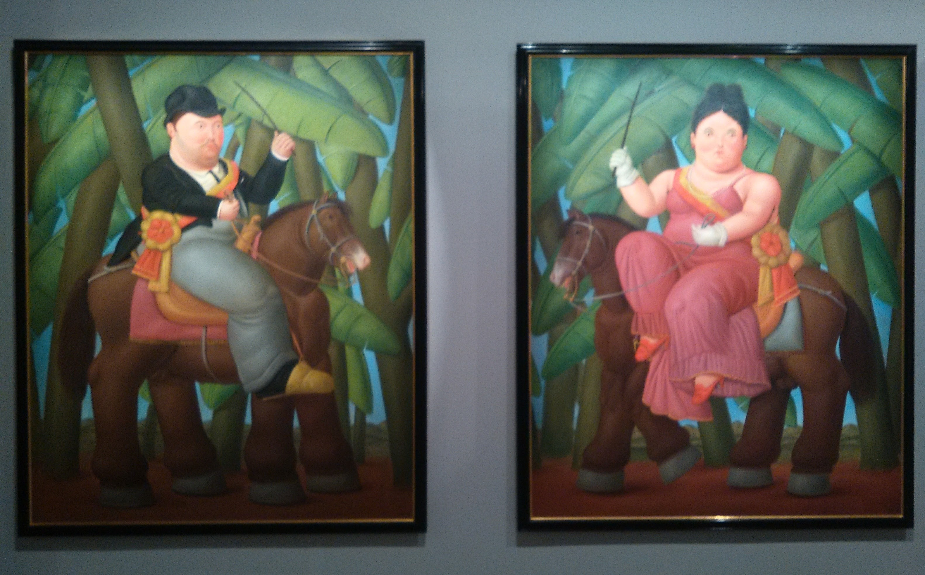 Botero Il Presidente e la First Lady