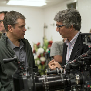 Matt Damon e Alexander Payne sul set di Downsizing