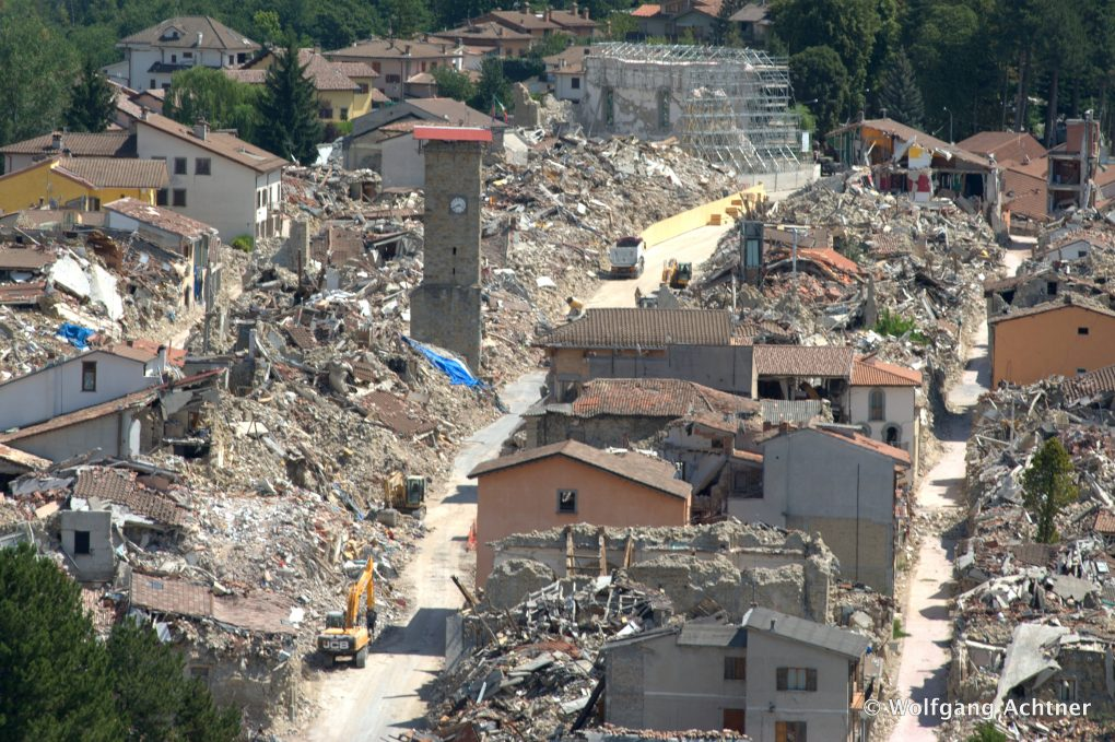 Amatrice Photo one year later, amatrice finds its redemption thanks to food – la