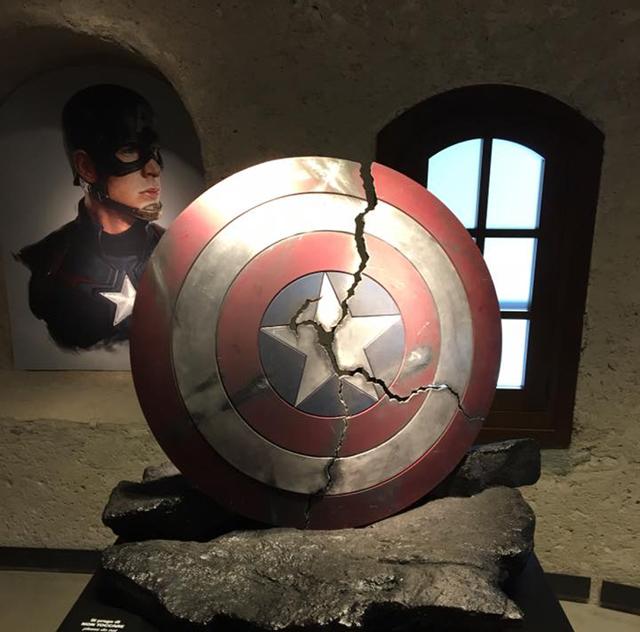 Lo scudo di Capitan America