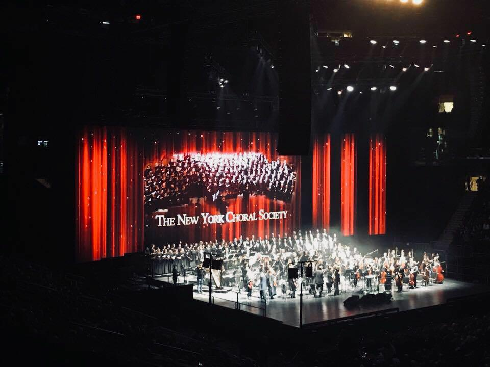 A New York Non C Natale Senza Andrea Bocelli Al Madison Square Garden La Voce Di New York