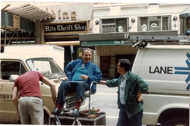 Paolo Borsellino a New York nel giugno del 1989