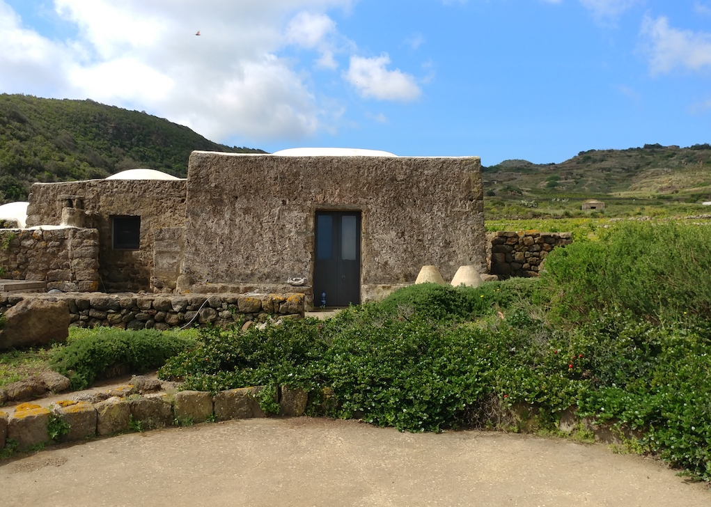 Coste Ghirlanda Winery on Pantelleria Island.