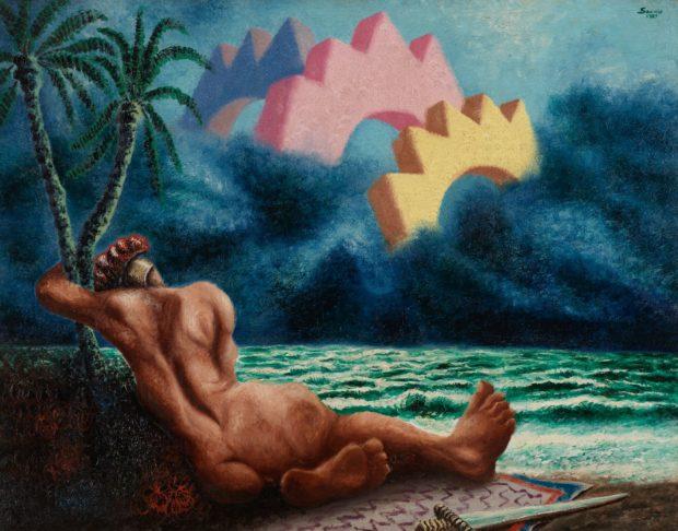 Savinio - Le songe d'Achille