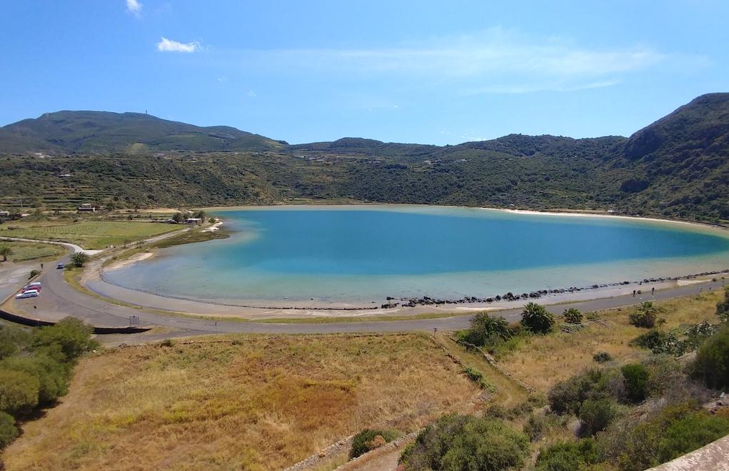 """""""The Mirror of Venus"""" on Pantelleria Island."""