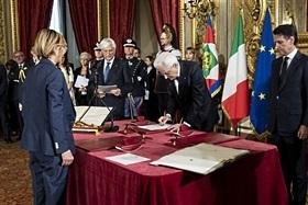 La ministra della Pubblica amministrazione Giulia Bongiorno