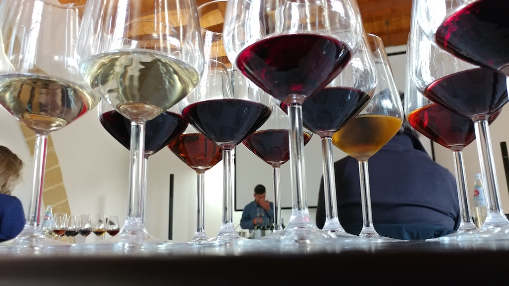 The Rainbow Wine Tasting at Cantine Florio