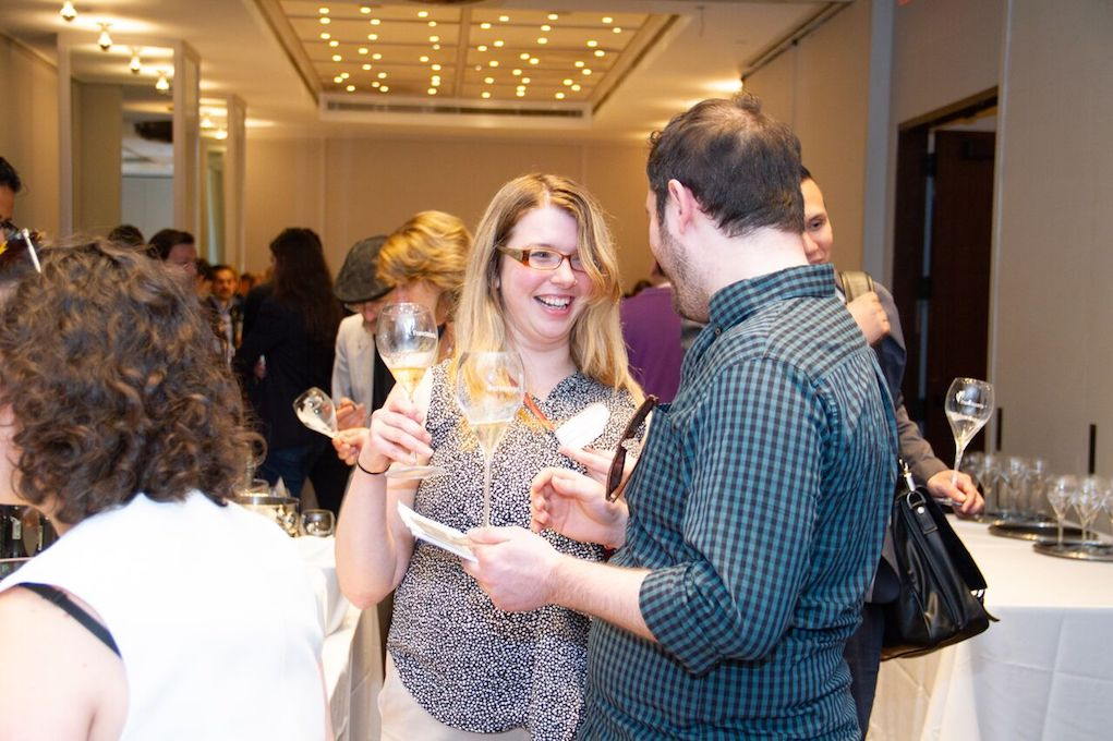 Franciacorta Sparkling Wine Bringing Joy to Drinkers at First Festival in NYC. Photo Credit Meghan Schaetzle