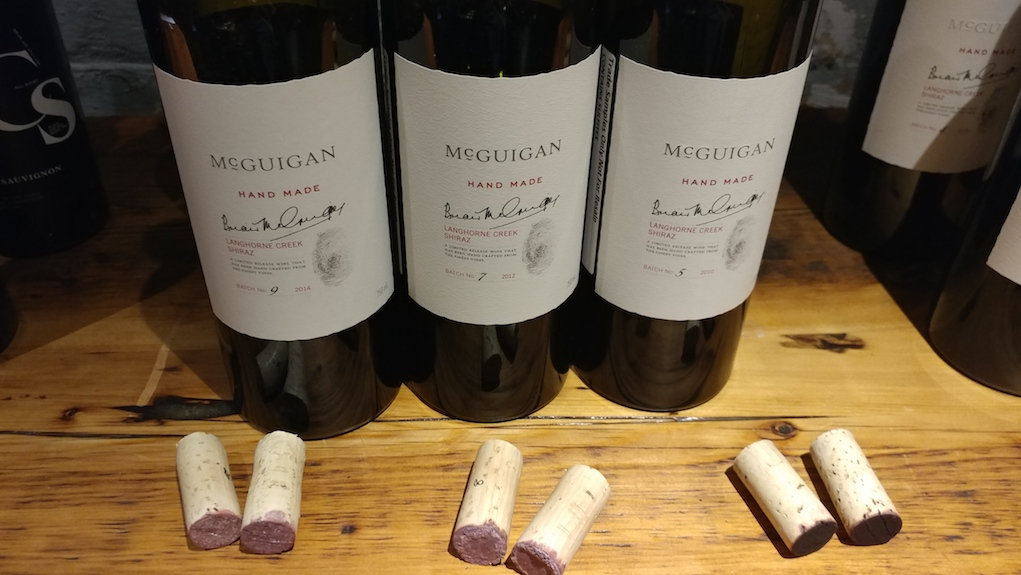 McGuigan Hand Made Shiraz Vertical
