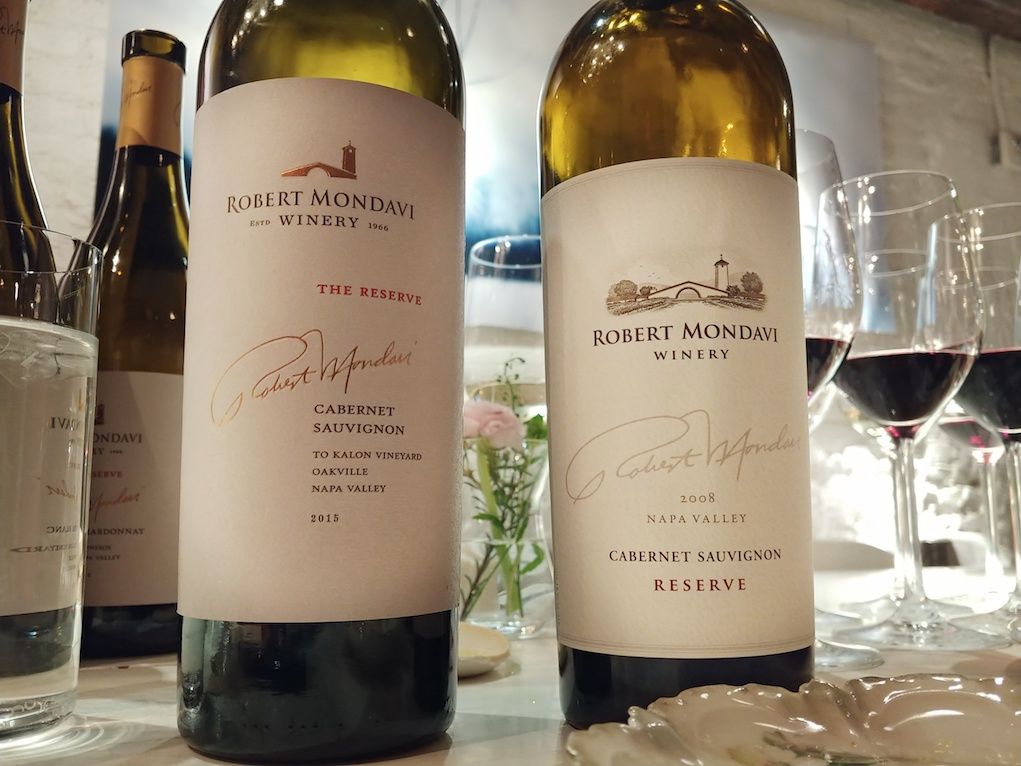 2015 & 2008 Robert Mondavi Winery Reserve Cabernet Sauvignon 'To Kalon Vineyard'