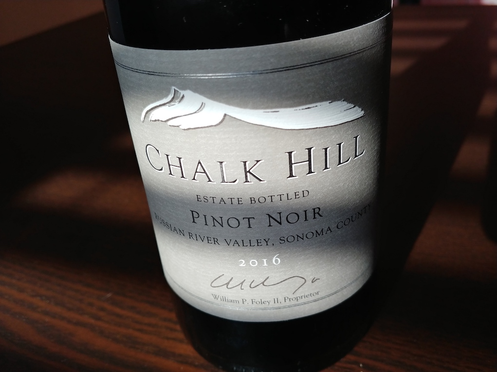 2016 Chalk Hill, Estate Pinot Noir, Chalk Hill AVA