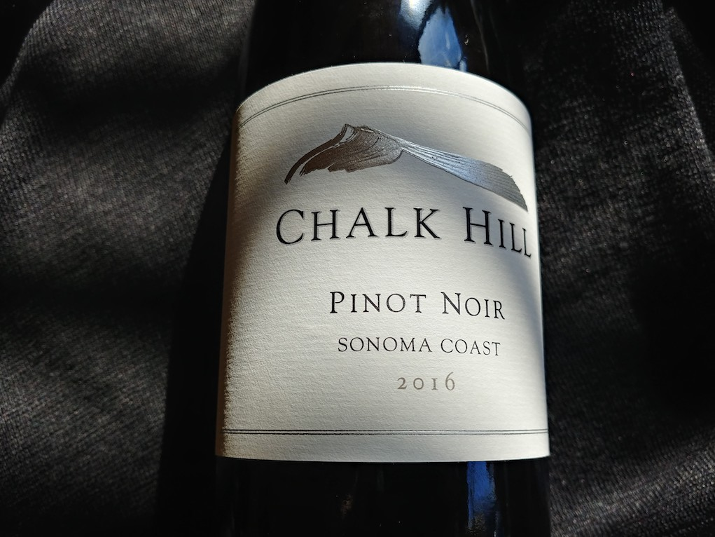 2016 Chalk Hill, Pinot Noir, Sonoma Coast, California