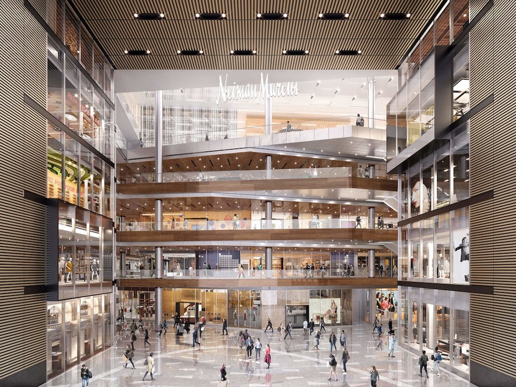 The Great Room at The Shops at Hudson Yards. Courtesy Related-Oxford