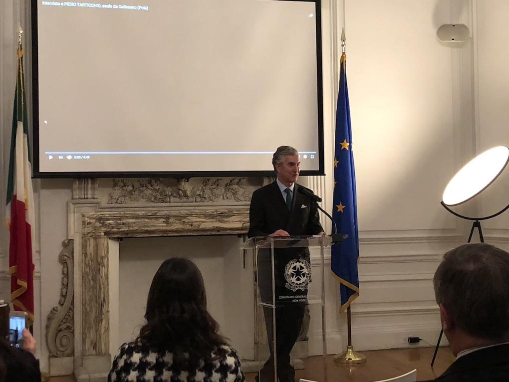 Il Console Generale Francesco Genuardi ha ospitato una commemorazione in occasione del giorno del ricordo (Foto VNY)