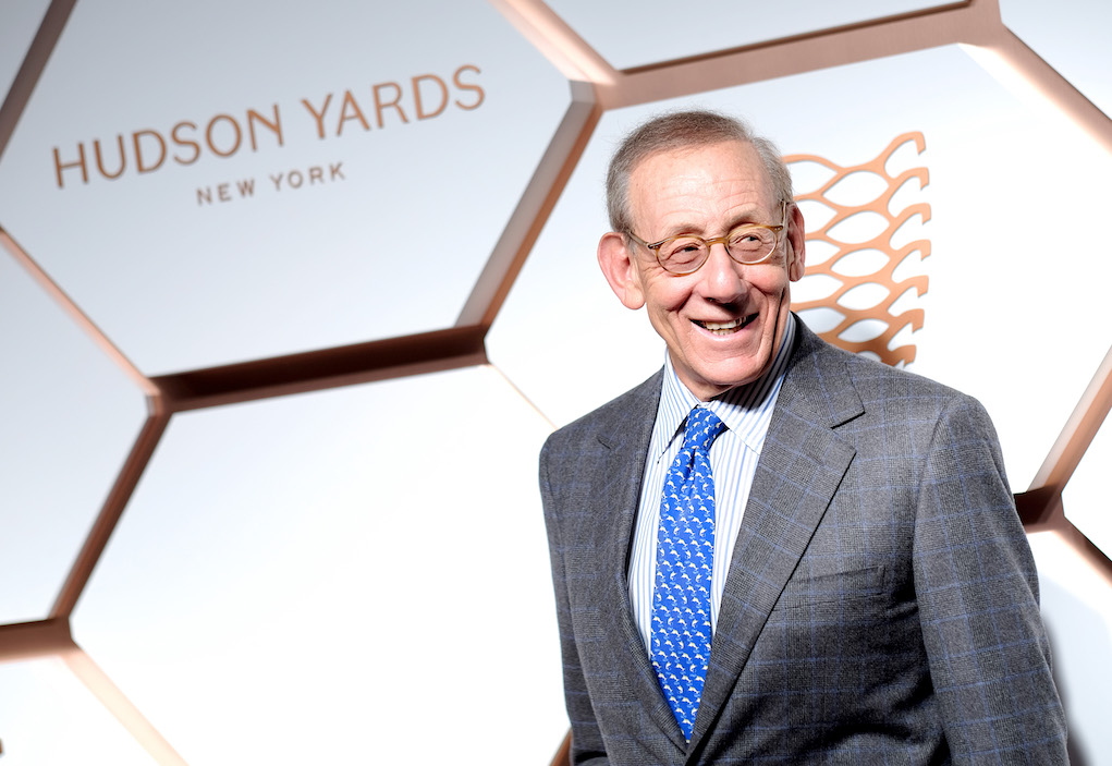 NEW YORK, NEW YORK - MARCH 14: Related Companies Chairman and Founder Stephen Ross attends The Shops & Restaurants at Hudson Yards Preview Celebrationñ Red Carpet Arrivals on March 14, 2019 in New York City. (Photo by Dimitrios Kambouris/Getty Images for Related)