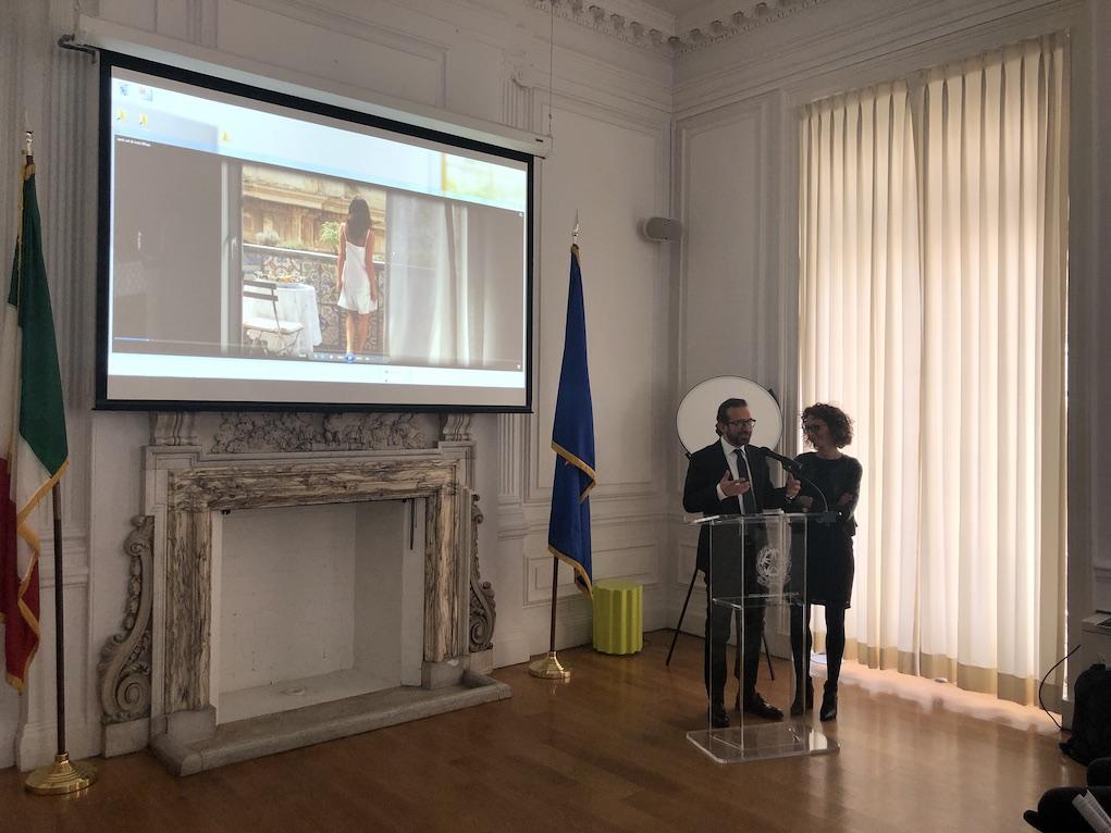 assessori al Turismo e alla Cultura Giusi Solerte e Frankie Terranova