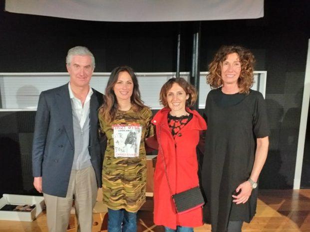 Il console Genoardi, Chiara Buratti, Simona De Martino, diplomatico del Ministero degli Affari Interni e cooperazioni internazionali e Roberta Faletti