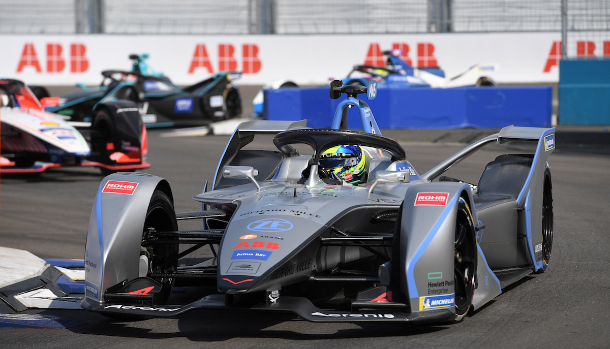 BROOKLYN STREET CIRCUIT, UNITED STATES OF AMERICA - JULY 12: Felipe Massa (BRA), Venturi Formula E, Venturi VFE05 during the New York City E-prix I at Brooklyn Street Circuit on July 12, 2019 in Brooklyn Street Circuit, United States of America. (Photo by Sam Bagnall / LAT Images)