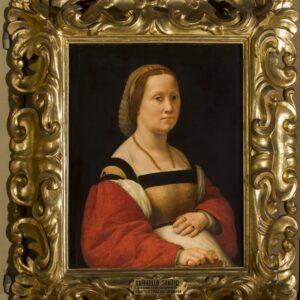 Raffaello. Ritratto Muliebre.