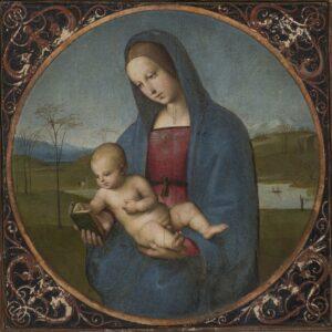 Raffaello. Madonna Conestabile.